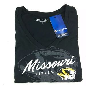 Missouri Tigers Women's Long Sleeve T-shirt Black